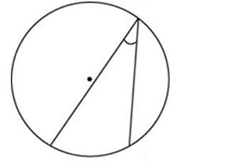Найдите вписанный угол, опирающийся на дугу, равную