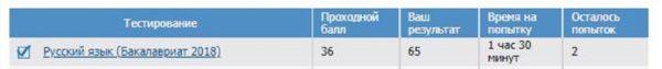 Русский язык вступительный тест